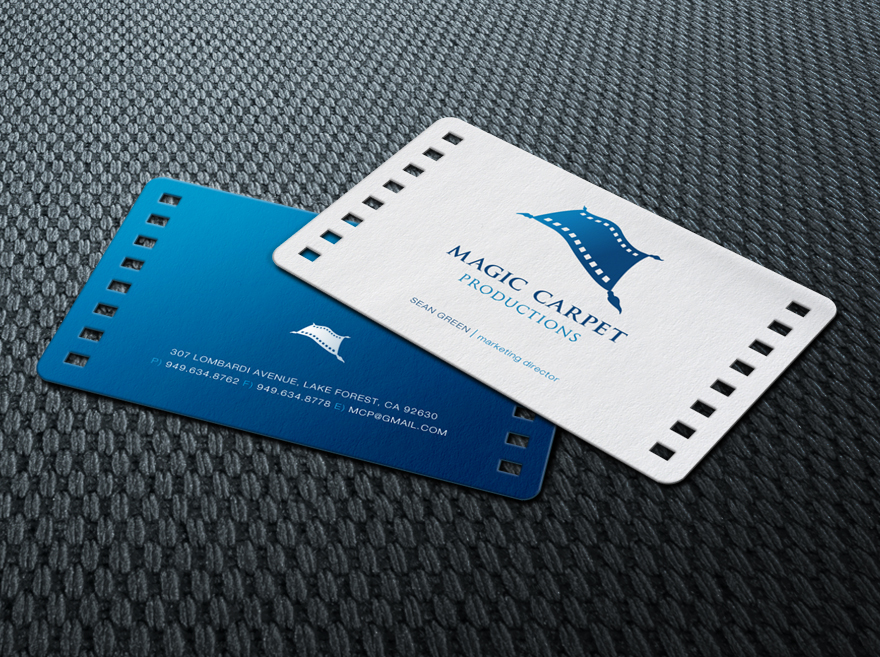 Magic Carpet Productions Business Card