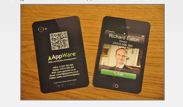 Business Card for: AppWare