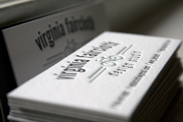 Personal Branding | Letterpress Business Card